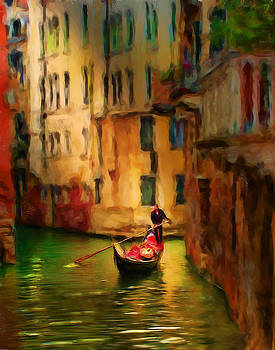 Lone Gondolier by Cary Shapiro