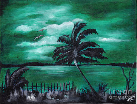 Lone Palm by Jacalyn Hassler Yurchuck
