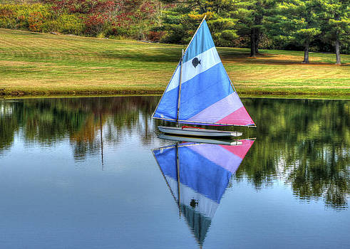 Lone Sailing by David Simons
