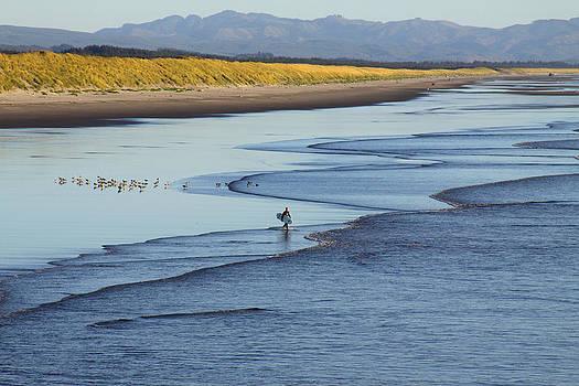 Lone Surfer by Dawn Kori Snyder