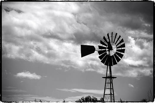 John McArthur - Lone windmill on the prairie