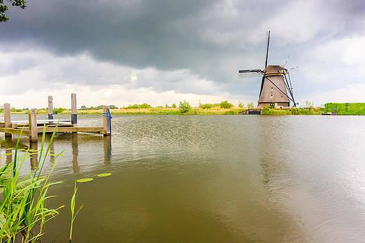 Lone windmill by Susan Leonard