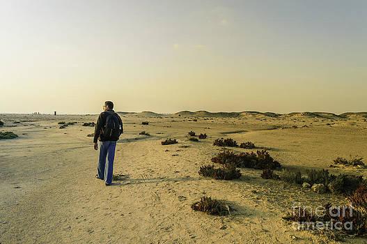 Lonely Explorer by Girish Veetil