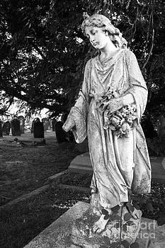 James Brunker - Lonely Girl in Cemetery
