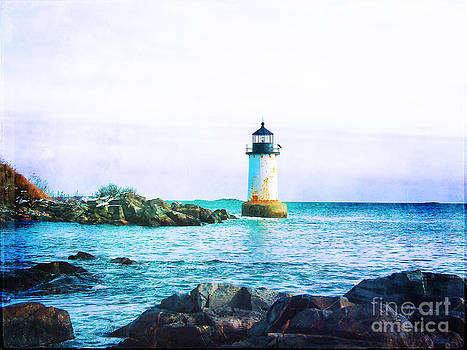 Lonely Lighthouse by Christian LeBlanc