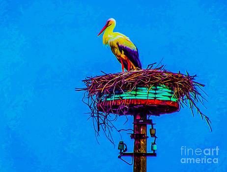 Algirdas Lukas - Lonely Stork
