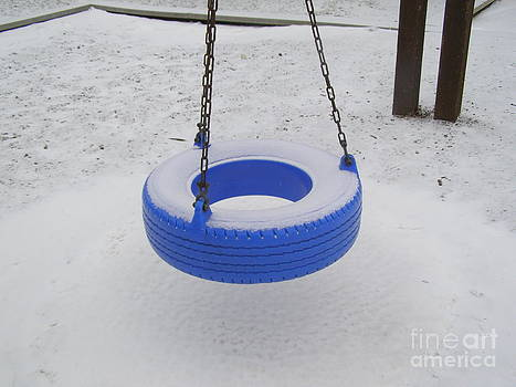 Lonely Tire Swing by Nikki Criel