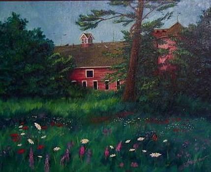 Lonesome Barn by Sherri Anderson