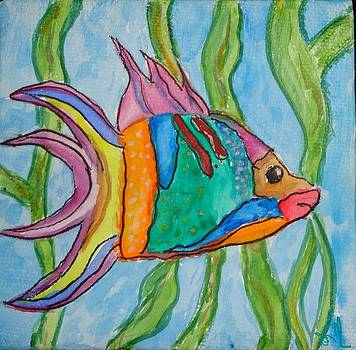 Lonesome Fish by Diane Maley