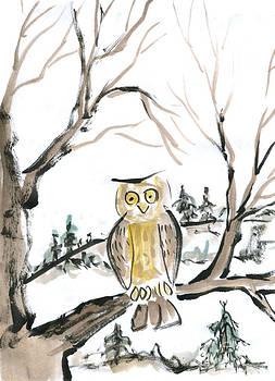 Ellen Miffitt - Lonesome Owl