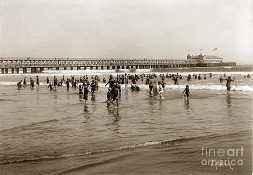 California Views Mr Pat Hathaway Archives - Long Beach Beach scene California E. A. Cohen Photo Circa 1906
