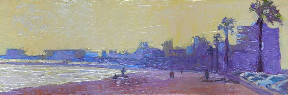 Kathleen Strukoff - Long Beach Skyline