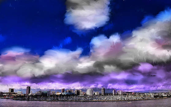 Long Beach View by Cary Shapiro