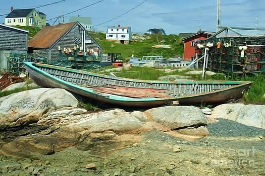 Roland Stanke - long boat