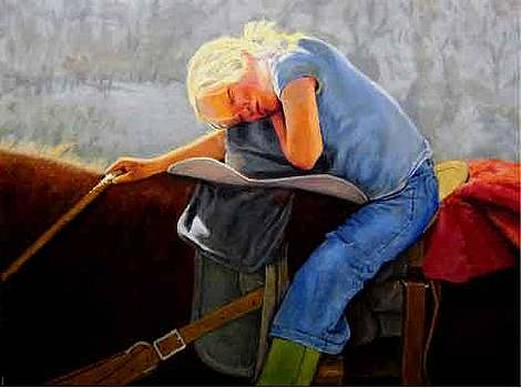 Long Day in the Saddle by Ronald Wilkinson