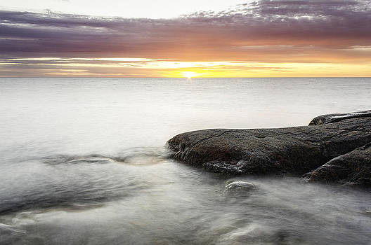 Long Exposure Sunset by Kenneth Forland