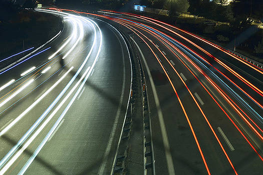 Long exposure the highway... by Can Kalagoglu