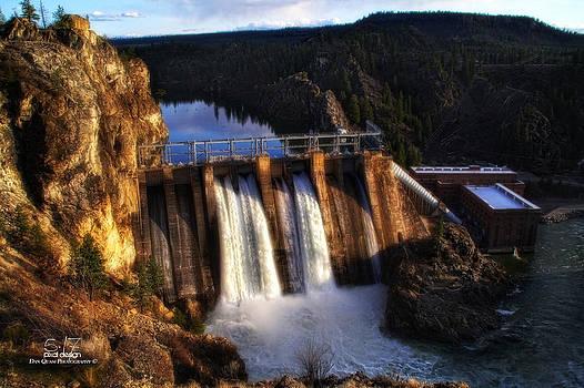 Long Lake Dam by Dan Quam
