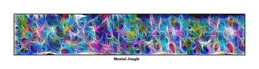 Long Series -- Mental Jungle by George Curington
