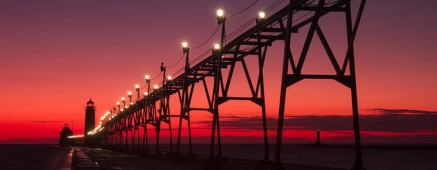 Long Walk Down The Pier by Rob Whitney