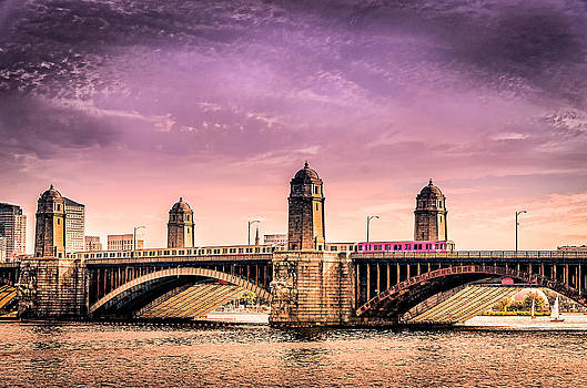 Ludmila Nayvelt - Longfellow Bridge Boston MA