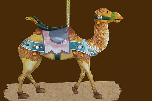 Looff carousel camel by Jim  Wallace