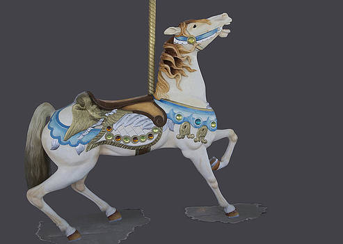 Looff carousel horse by Jim  Wallace