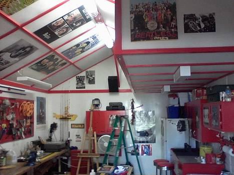 Look Inside Studio Work Shop by Edward Pebworth