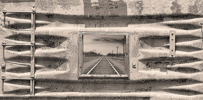 James BO  Insogna - Looking Back Sepia Panorama