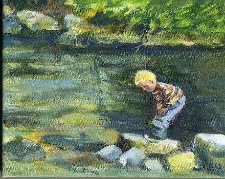 Looking for Tadpoles by Karen Apostolico
