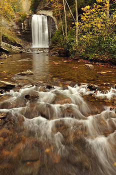 Looking Glass Falls by Adam Paashaus