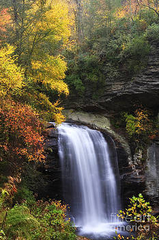 Jill Lang - Looking Glass Falls in North Carolina