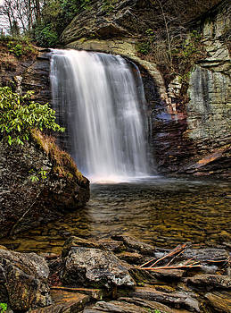 Looking Glass Falls by Louise St Romain
