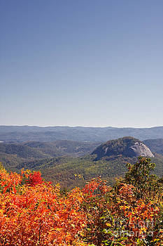 Jill Lang - Looking Glass Rock in North Carolina