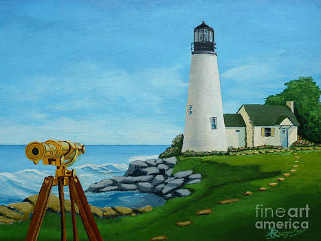 Looking Out to Sea by Anthony Dunphy