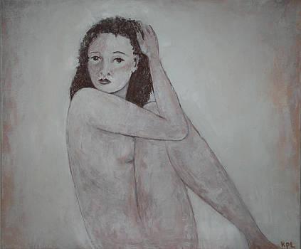 Kathy Peltomaa Lewis - Looking Over Her Shoulder