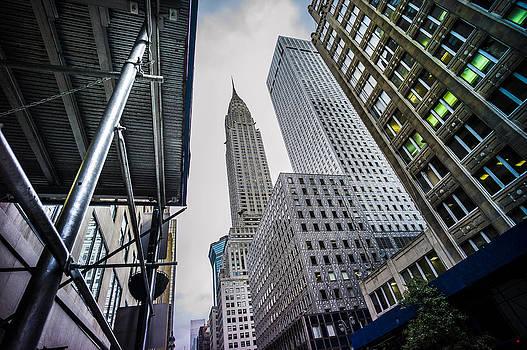 Looming Chrysler by Chris Halford