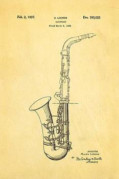 Ian Monk - Loomis Saxophone Patent Art 1937