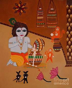 Lord Balakrishna by Jnana Finearts