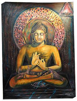 Lord Buddha by Sankaranarayanan