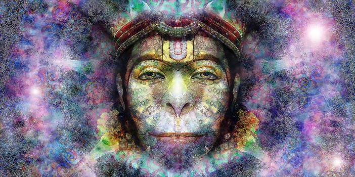 Lord Hanuman by D Walton
