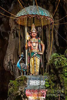 Adrian Evans - Lord Murugan Statue