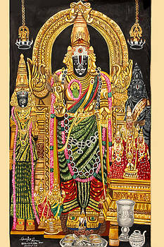 LORD PARTHASARATHY mahavishnu by Sankara Narayanan