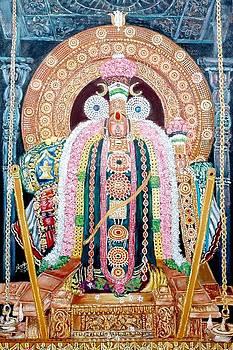 Lord Siva of Thiruvarur by Sankaranarayanan