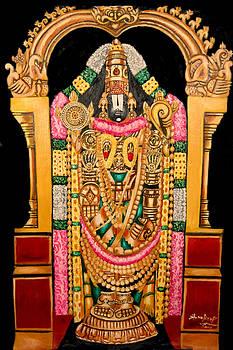 Lord Srinivasa Of Thirumala-thirupathy-india by Sankaranarayanan