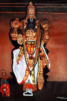 Lord Varadhar Of Kanchi by Sankaranarayanan