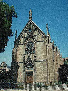 Loretto Chapel by Jeanne LeMieux
