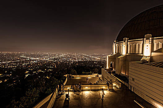 Los Angeles as seen from Griffith Observatory by Wim Slootweg