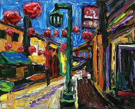 Allen Forrest - Los Angeles Chinatown Alley