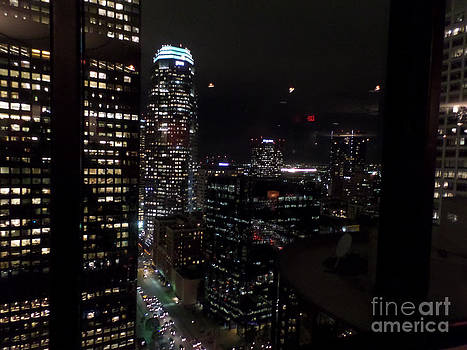 Los Angeles Nightscape by HEVi FineArt